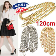 120CM for Handbag Shoulder strap bag purse Smooth Metal Replacement Chain or