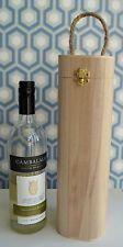 Wooden Wine Bottle Gift Box Presentation Case Craft