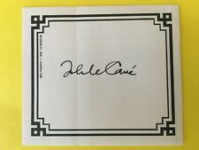 John Le Carre > ( David Cornwell)  SIGNED AUTOGRAPHED BOOKPLATE NO INSCRIPTION !