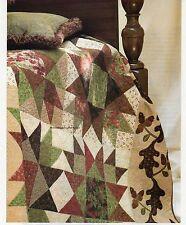 Oaks & Acorns Quilt Pattern Pieced DO