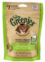 Feline Greenies For Cats scientifically formulated reduce tartar Catnip 2.5 oz