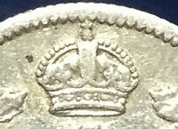 1909 CANADA SILVER 5 CENTS - Round leaves Cross/Bow Tie - very scarce coin !