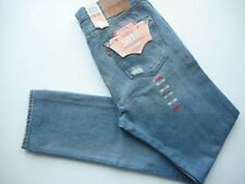 Ripped, Frayed Regular Tapered Jeans for Men