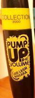 3 x Collection Pump Up The Volume Loud Lash Mascara Black