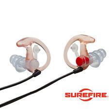 Surefire EP4 Sonic Defender Plus Ear Plug Shooting, Airsoft Clear - Medium
