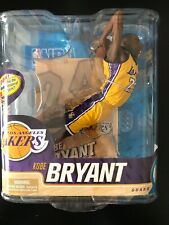 KOBE BRYANT, YELLOW JERSEY MCFARLANE Action Figure , LOS ANGELES LAKERS