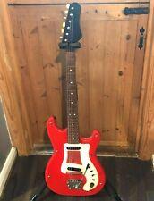 vintage Hagstrom vintage electric guitar sweden 1962/63 leather back ser 537472