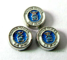 10pcs United States air force Floating charms For living memory Locket FC273-4