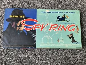 Vintage Spy Ring Board Game Waddingtons 1965