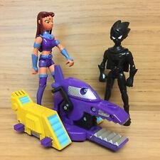 DC Bandai Teen Titans Go Battling Machine Thunderbull Robin Starfire MISSING LEG