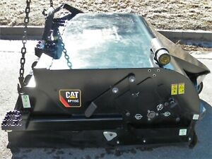 Caterpillar BP115C Pick-up Broom for Skid Steer and Rubber Track Loaders