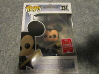 funko pop! san diego comic con summer exclusive organization 13 mickey #334