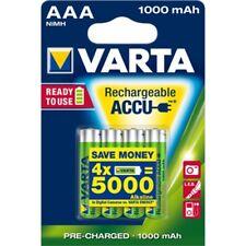 4x VARTA-Akku 1,2V Micro AAA HR03 1000mAh 5703 Rechargeable Accu R2U ReadyToUse