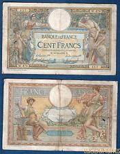 100 Francs Luc Olivier Merson type 1906 Avec LOM 13-10-1908 W.478 TB