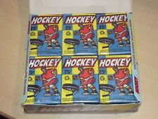 (New Box Just Opened) 1983/84 OPC Hockey Unopened Wax Pack Fresh From A Box!!!