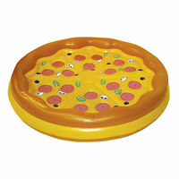 Swimline Giant Inflatable Personal Pizza Island Swimming Pool Float | 90647