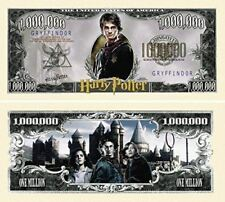 "100 Harry Potter Million Dollar Bill with Bonus ""Thanks a Million"" Gift Card Set"