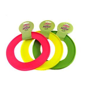 Happy Pet Dog Flying Disc Ring Fun Frisbee Throw Fetch Retrieval Beach Garden