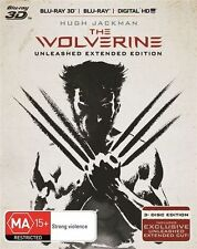 The Wolverine: Unleashed Extended Edition (Blu-ray) like new watched once