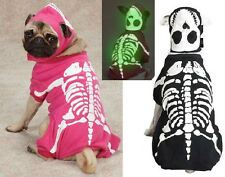 Glow Bones, USA Seller Glow in the Dark Skeleton Dog Halloween Costume, AllSizes