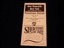 R258 Oct 29 1967 PENNSYLVANIA PRR RR NEW YORK Timetable