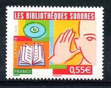 STAMP / TIMBRE FRANCE  N° 4160 ** LES BIBLIOTHEQUES SONORES