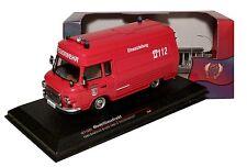 Barkas B1000 SMH-3 Feuerwehr der DDR Bj 1984 1:43 IXO / IST 169T NEU & OVP