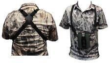 NEW Binocular Shoulder Carry Harness/Strap - Elastic, Adjustable, Universal