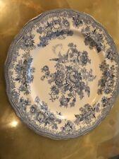 Beautiful Antique Doulton Asiatic Pheasants 27cm Dinner Plate