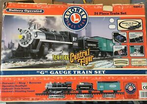 Lionel New York Central Flyer G Gauge Train Set Pre Owned Great Condition