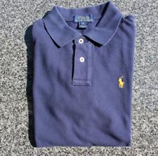 Usado Niño Azul Marino Camisa Ralph Lauren Polo, Talla M (10-12) (UK 8-9yrs)