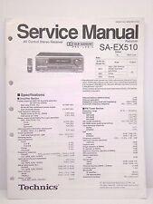 Technics Original Service Manual SA-EX510 Receiver