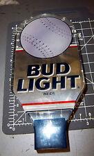 Bud Light Beer Tap Handle Baseball - Softball Lucite , great beer tap handle