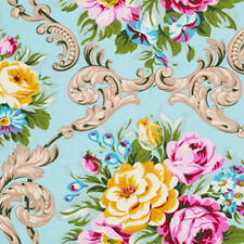Jennifer Paganelli Sis Boom Circa Maggie Fabric in Blue PWJP076 100% Cotton