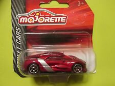MAJORETTE METAL STREET CARS NEW SEALED RENAULT ALPINE A110 RED
