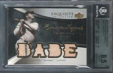 2006 BABE RUTH Exquisite Legends Quad Jersey Patch Stripe #10/15 Yankees