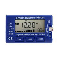 Digital Batterie Kapazität Tester Prüfer zum LiPo LiFe Li-Ion NiMH Nicd RC Akku