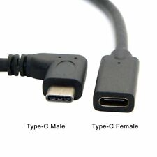 90 Degree Right Angle Micro USB Male to USB Female OTG (On the Go) Adapter Cable