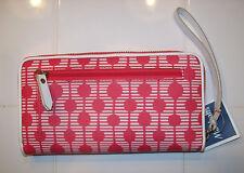 Fossil SOPHIA  Zip Clutch SWL1488664 Wallet Multi Pink NWT  MSRP $75