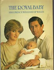 THE ROYAL BABY HRH PRINCE WILLIAM OF WALES BY SANDRA BARWICK PITKIN 1982