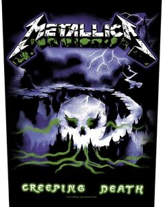 Metallica Creeping Death giant sew-on back patch   360mm x 300mm  (rz)