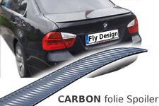 BMW E90 Limo M3 Spoiler CARBON Folie Heckspoiler Spoilerlippe Spoiler Lippe neu