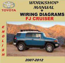 Workshop Manual + Wiring Diagram - Manual De Taller Toyota FJ Cruiser 2007-2012