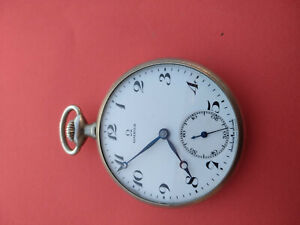 Vintage Omega 47,5mm 15J Manual Wind Pocket Watch_298