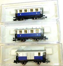 3-piezas Edelweiss Tren local Ep3 Fleischmann 805401 805302 805303 N 1:160 HQ2 µ