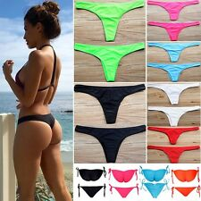 c158b1553c28e Women HOT Brazilian Cheeky Bikini Bottom Thong Bathing Beach Swimsuit  Swimwear