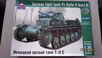 German Light Tank Pz Kpfw II Ausf C, WWII.  1/35 ARKmodels  #  35018
