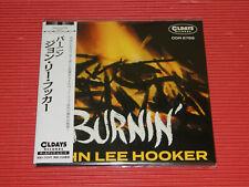 JOHN LEE HOOKER Burnin' with BONUS TRACKS  JAPAN MINI LP CD
