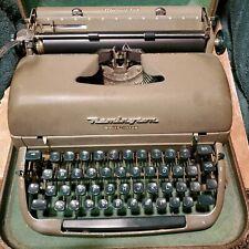 Remington Rand Quiet Riter Miracle Tab in Case- Vintage Typewriter