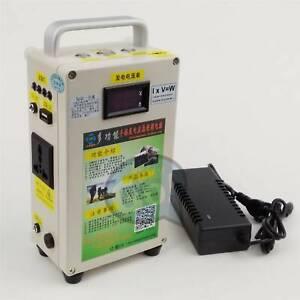 220V portable Hand Crank Generator Car Emergency start phone Charger